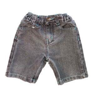 King Maker Boys Gray Denim Shorts 4T